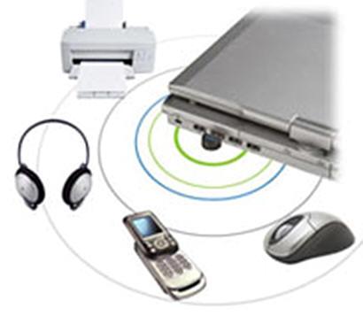 Der MoGo Dapter USB Bluetoothadapter kann sich mit bis zu 6 weiteren Bluetoothgeräten verbinden