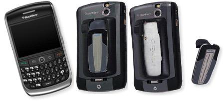 Das MoGo Talk Bluetooth Headset für das BlackBerry Curve ist eine geniale Lösung bestehend aus einem superflachen Headset und einer am BlackBerry ansteckbaren Ladeschale und Halterung welche gleichzeitig als Schutzhülle dient.